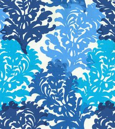 "54"" Modern Essentials Print Fabric-Top Form Blueberry"