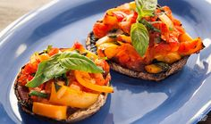 If you're not big on nut-based pizza crusts, try out these easy and satisfying personal pizzas, each baked inside a meaty Portobello cap.