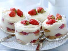 Tiramisu aux fraises, facile, rapide et pas cher : recette sur Cuisine Actuelle