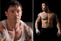Tom Hardy's Official Warrior Workout [Tommy Conlon] Tom Hardy Bane, Tom Hardy Hot, Tom Hardy Warrior, Gorgeous Men, Beautiful People, Dh Lawrence, Warrior Workout, Ex Husbands, Good Looking Men