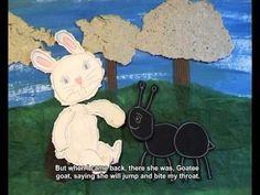 O coelhinho branco - 1.ºano