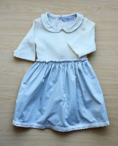Baby Blue checked dress