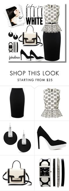 """""""Untitled #734"""" by gallant81 ❤ liked on Polyvore featuring moda, Alexander McQueen, Marc Jacobs, Chico's, Jeffrey Campbell i Kate Spade"""