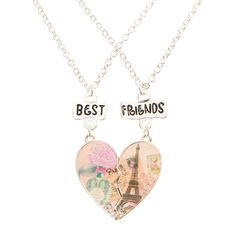 Shop Claire's for the latest trends in jewelry & accessories for girls, teens, & tweens. Bff Bracelets, Bff Necklaces, Best Friend Necklaces, Best Friend Jewelry, Kids Jewelry, Cute Jewelry, Hasbro My Little Pony, Best Friend Outfits, Girls Accessories