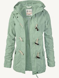 Shower-proof hooded coats I might purchase