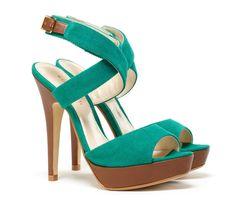 Teal canvas platform heels...can i wear 'em to work? They match my scrubs