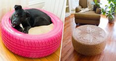 50 clever diy ways to reuse old tires Furniture Update, Old Furniture, Recycled Furniture, Furniture Design, Diy Clothes Videos, Clothes Crafts, Reuse Pill Bottles, Soda Bottles, Reuse Old Tires