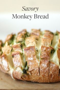 If you're looking for something to serve your friends and family before your Thanksgiving meal while you finish getting ready, try our savory monkey bread recipe. You can sub in your favorite cheese and bread. via @PureWow