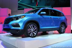 The powertrain of the 2016 Honda Pilot will feature a EarthDreams Technology engine that produces 280 horsepower and 262 lb-ft of torque. Honda Pilot Reviews, 2017 Honda Pilot, Car, Objects, Technology, Design, News, Blog, Tech