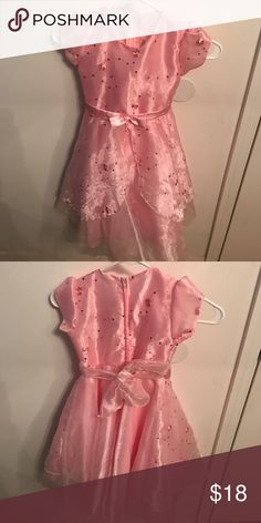 ✨Toddler Girl pretty pink formal dress✨ Beautiful piece. Size 5/6 Dresses Formal