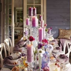 Pantone Color of the Year for 2013 nominee: African Violet! (image via Enchanted Dream Weddings)