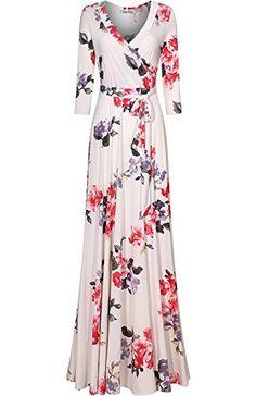 Bon Rosy Women's 3/4 Sleeve Floral Printed Bohemian Maxi ... https://www.amazon.com/dp/B06ZYJ4LMN/ref=cm_sw_r_pi_dp_x_nn0FzbF6CNXE3