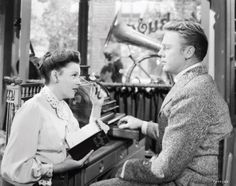 One of my favorite movies ~ In the Good Old Summertime starring Judy Garland and Van Johnson