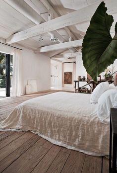Chambre spacieuse et épurée, nature chic