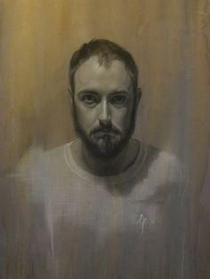 Brian Parrillo - Self Portrait (painting)