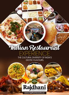 Rajdhani Sweets & Restaurant is among the top Indian restaurant in Brampton. We are serving authentic Indian vegetarian food and the variety of Indian sweets. Top Indian Restaurants, Indian Sweets, Vegetarian Food, Pure Products, Veggie Food, Vegetarian Cooking, Vegan Food, Vegetarian Diets