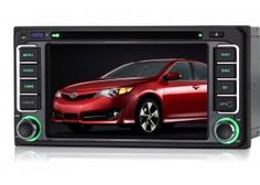 Plug and Play Car Stereo Double Din 6.2 Inch In Dash GPS Navigation Win CE 6.0 System Support Steering Wheel control/DVR/3G/1080P For Toyota