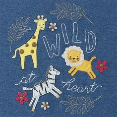 Wild At Heart Embroidered Tunic & Legging Set