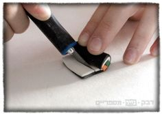 How to make miniature sushi with oven baked clay sculpy Fimo by Attar Benmelech