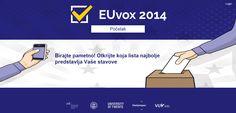 EUvox 2014: Aplikacija koja biračima olakšava odabir političke opcije na EU izborima