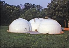 Dome House exterior Rear michael jantzen architecture