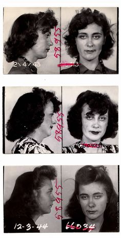 The baddest of the bad -- she was arrested 3 separate times: | 23 Vintage Mugshots