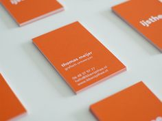 Business Cards by Thomas Meijer