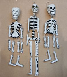 Day Of The Dead Paper Mache People  $129.00just in from Mexico  approx 64cm high
