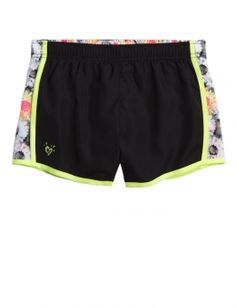 Printed Inset Track Shorts | Justice