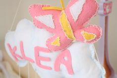 Birth bow personalized by Yayacreazioni on Etsy it's a girl , birth announcement ,baby shower