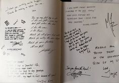 Lost Cast Crew Yearbook from the final season. Hand written goodbyes and thank you's from the cast. 130 pages of things no one has ever seen before.