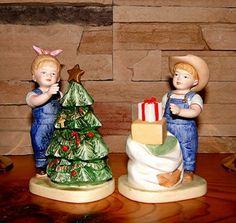 Denim Days It's Christmas Home Interiors Holiday Homco 5563 | eBay