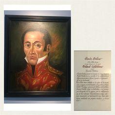 Óleo a Simón Bolívar en Casa Museo Batallón No. 14 de Infantería - Quinta Brigada del Ejército de Colombia