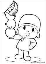pocoyo coloring pages on coloring-book.info | children crafts ... - Pocoyo Friends Coloring Pages