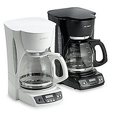 Mr. Coffee® 12-Cup Programmable Coffee Maker in white PURCHASED