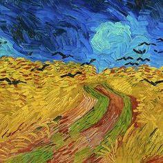 Wheatfield with Crows by Vincent van Gogh Vincent Van Gogh, Camille Pissarro, Impressionism Art, Impressionist, Champs, Art Van, Classic Paintings, Illustration Art, Vans
