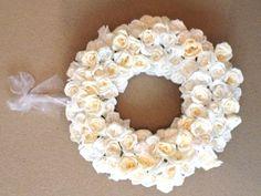Rose wreath BY SAB creations