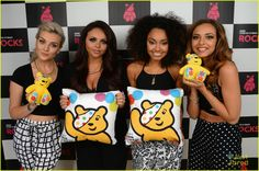The girls with Pudsey :)