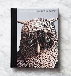 We're completely blown away by the new book, Irving Harper: Works on Paper. The paper art is just stunning.