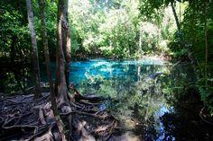 Blue Pool, Krabi, Thailand