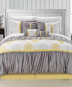 Yellow Precious Comforter Set