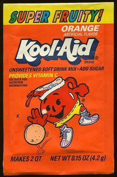 Kool-Aid orange flavor (Super Fruity!) packet early 90's Bedroom Wall Collage, Photo Wall Collage, Picture Wall, Room Posters, Poster Wall, Poster Prints, Kool Aid, Retro Wallpaper, Aesthetic Iphone Wallpaper