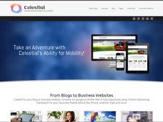 WordPress › Celestial - Lite « Free WordPress Themes