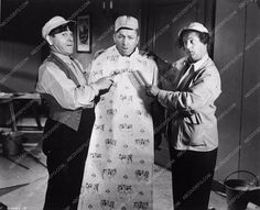 photo 3 Stooges Moe Larry Curly comedy short A Bird in the Head 3388-30