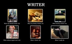 If you are a writer, this should give you a giggle