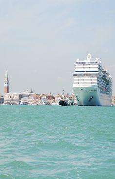 Venice , Venezia, Veneto and cruise ships