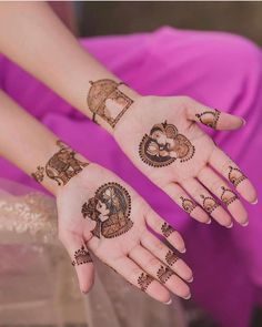 Looking for a special mehndi design which is simple yet beautiful for any occasion? Lets have a look at some latest and attractive mehndi designs.