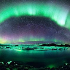 Aurora - Pinned by Mak Khalaf Performing Arts by AndreiGratiKiss Nature Landscape, Landscape Lighting, Between Two Worlds, Around The Worlds, Aurora Borealis From Space, Sky Images, Nature Images, Nature Pictures, Beautiful Pictures