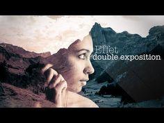 Tutoriel Photoshop - Tuto créer un effet double exposition (double exposure) avec Photoshop CC - YouTube
