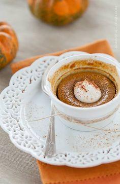 Maple Pumpkin Custard #AgainstAllGrain paleo gluten free